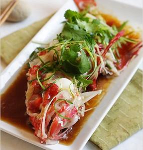 Easy Thai Steamed Fish Recipe,Thai Steamed Fish,Easy Fish,Thai,Fish,Fish Recipes ,Steamed Fish - Easy Thai Steamed Fish Recipe