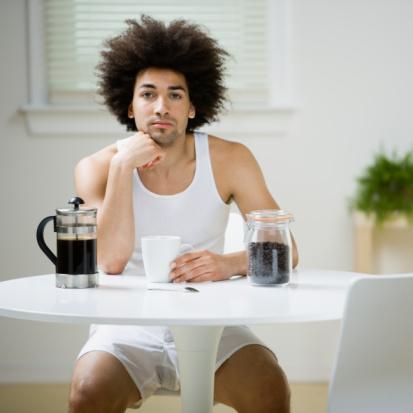 Take Coffe Break Before Excercising