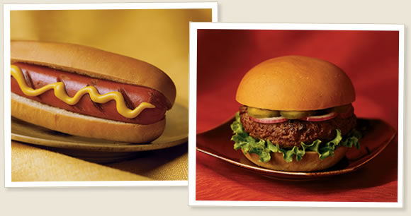Which one is more Healthier Hamburger or Hot dog?