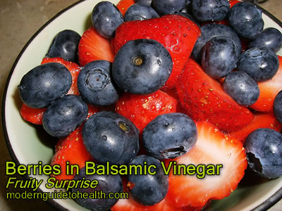 Berries in Balsamic Vinegar