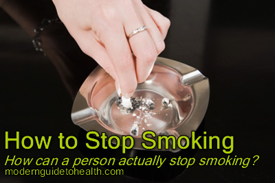 How to Stop Smoking