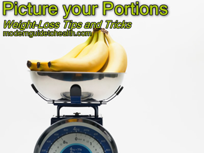 Weight-Loss Tips and Tricks: Picture your Portions - Modern Guide to Health Health Guide Healthy Lifestyle Modern Guide to Healt
