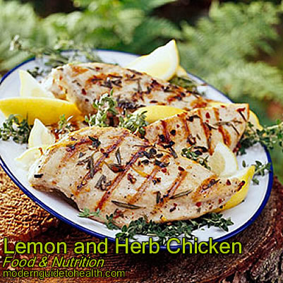 Basted herbed chicken recipe
