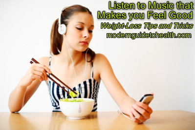 Weight-Loss Tips and Tricks: Listen to Music that Makes you Feel Good