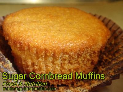 Sugar Cornbread Muffins