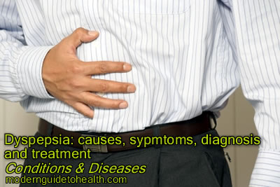 Dyspepsia: Causes, Sypmtoms, Diagnosis and Treatment