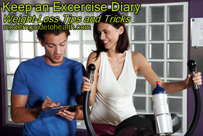 Weight-Loss Tips and Tricks:  Keep an Excercise Diary