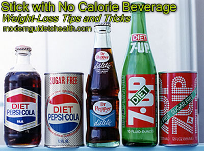 Weight-Loss Tips and Tricks: Stick with No Calorie Beverage