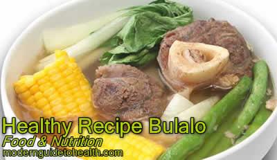 Healthy Recipe Bulalo