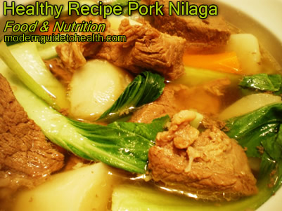 Healthy Recipe Pork Nilaga