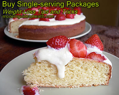 Weight-Loss Tips and Tricks: Buy Single-serving Packages