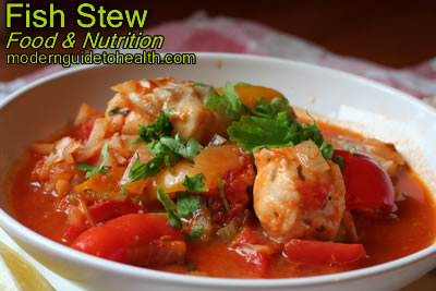 Healthy Recipe Fish Stew