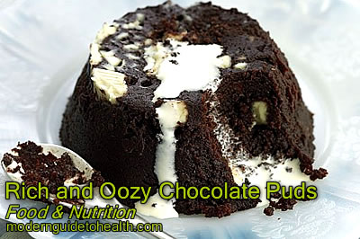 Healthy Recipe Rich and Oozy Chocolate Puds