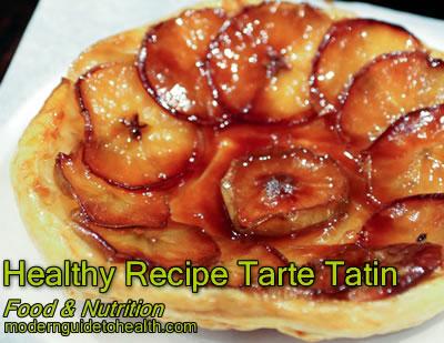 Healthy Recipe Tarte Tatin