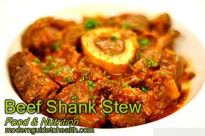 Healthy Recipe Beef Shank Stew