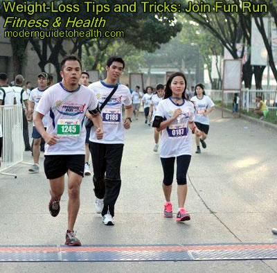 Weight-Loss Tips and Tricks: Join Fun Run