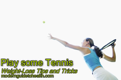 Weight-Loss Tips and Tricks: Play some Tennis or Racquetball