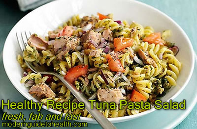 Healthy Recipe Tuna Pasta Salad