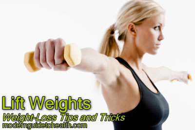 Weight-Loss Tips and Tricks: Lift Weights