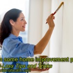 Weight-Loss Tips and Tricks: Start on some home improvement projects